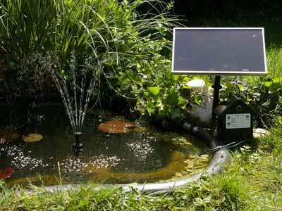 t i p solar teichpumpe set springbrunnen mit speicherakku. Black Bedroom Furniture Sets. Home Design Ideas