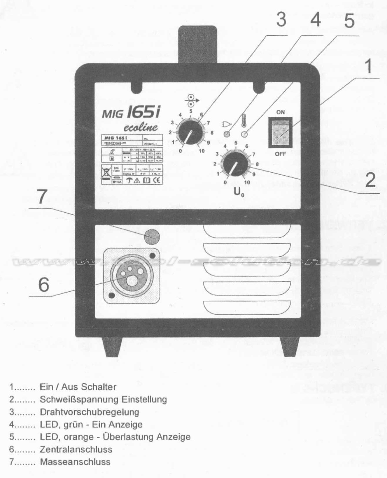 01 iskra inverter mig mag flux 165i ecoline schutzgasschwei ger 60070. Black Bedroom Furniture Sets. Home Design Ideas